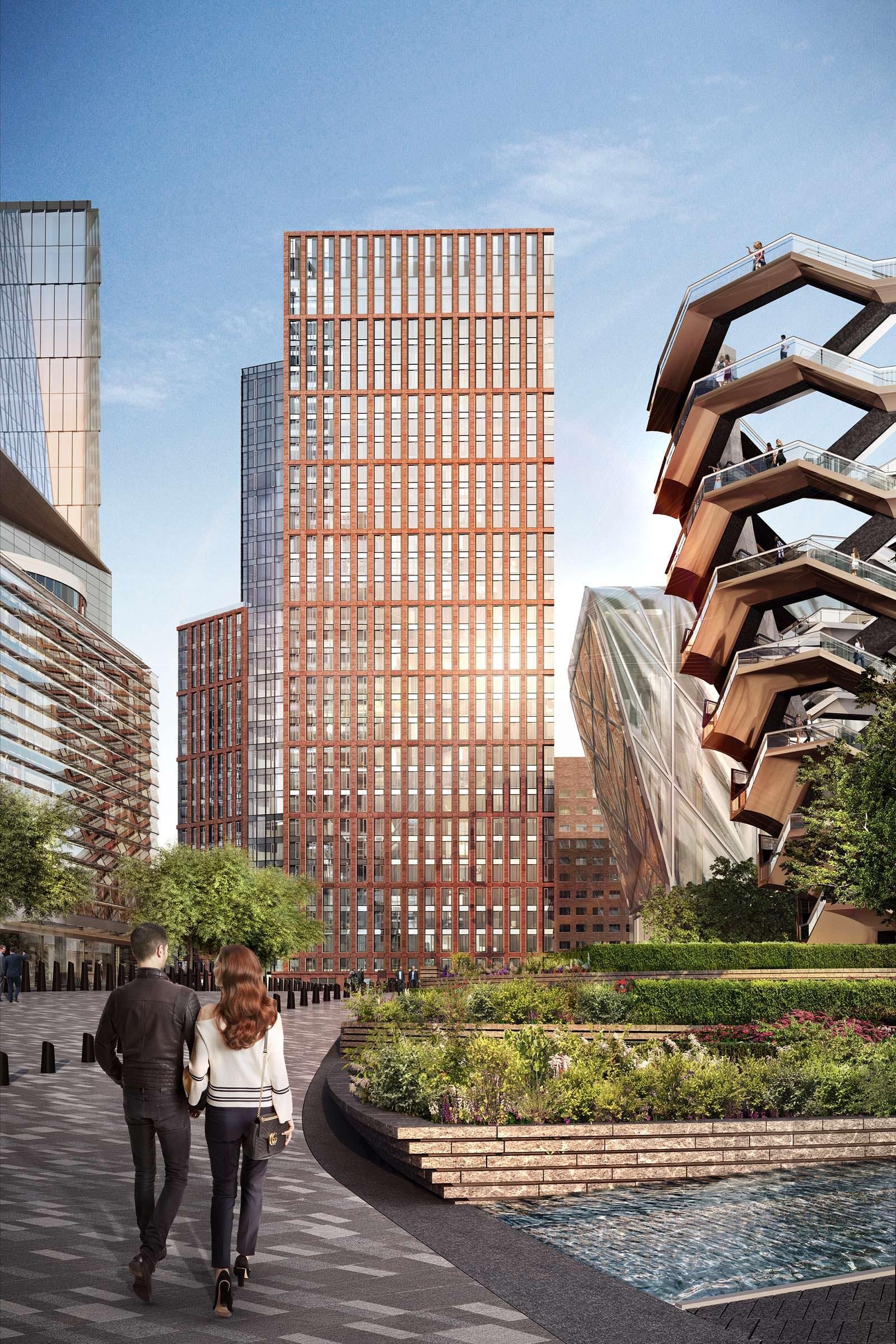 Жилой небоскреб One Hudson Yards на 178 квартир в Нью-Йорке