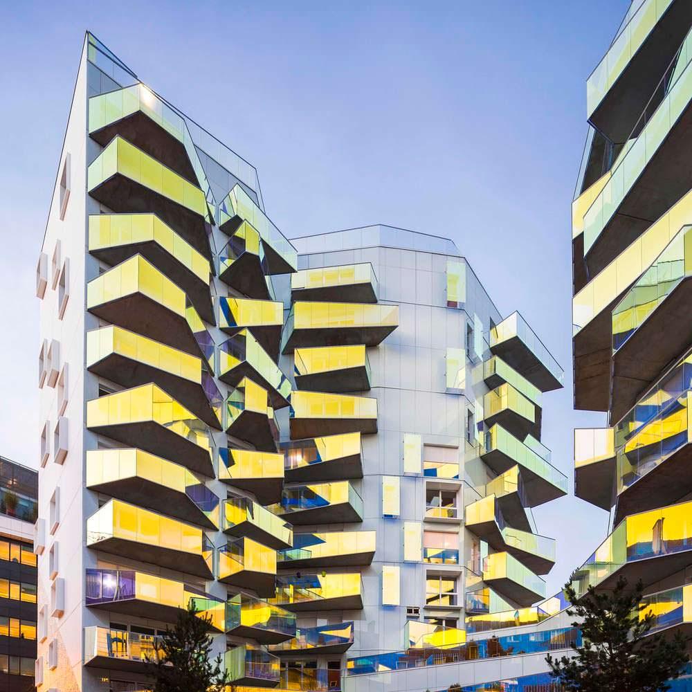 Социальное жилье в ЖК Fulton в 13-м округе Парижа