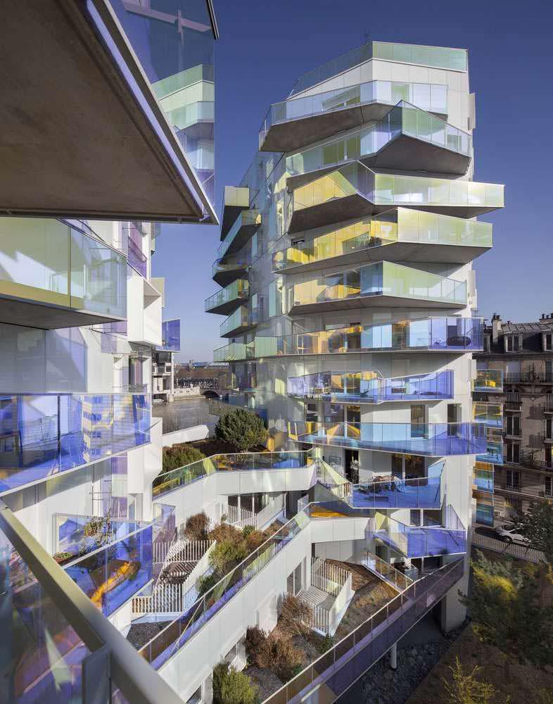 11-этажные корпуса ЖК Fulton на берегу Сены в Париже
