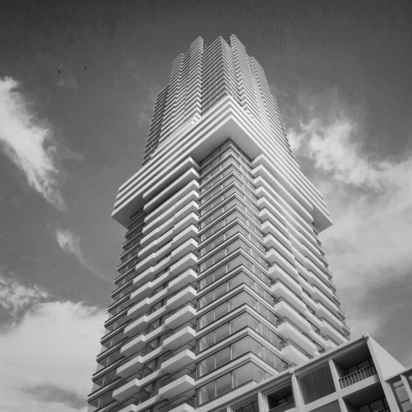 150-метровая жилая башня Cooltoren в Роттердаме