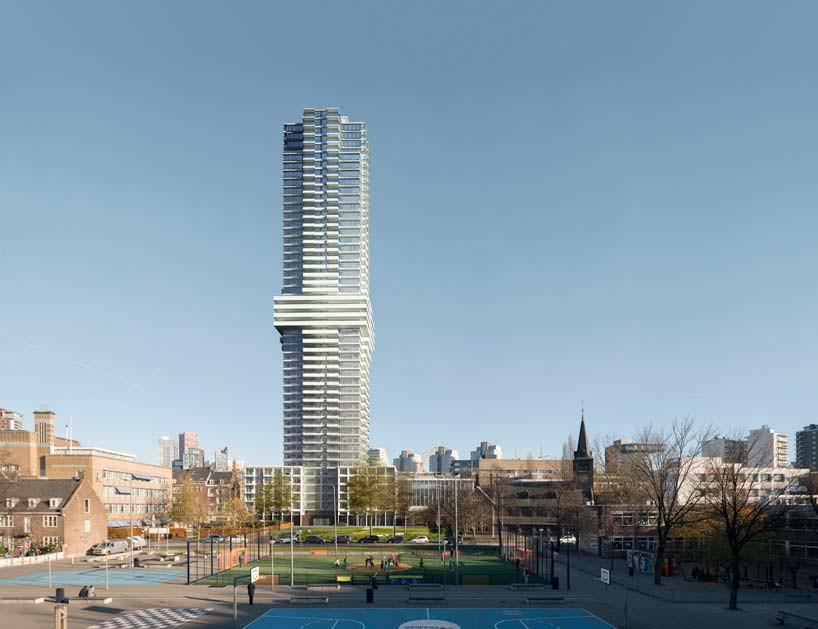 Новый небоскреб Cooltoren в Нидерландах