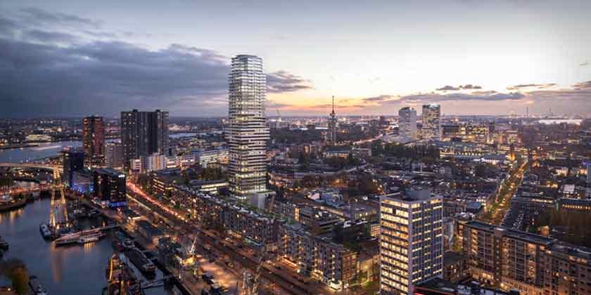V8 Architects построит 150-метровый небоскреб в Нидерландах