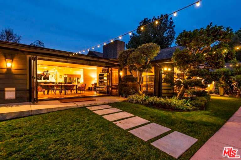 Элегантный особняк Кейт Уолш в Калифорнии