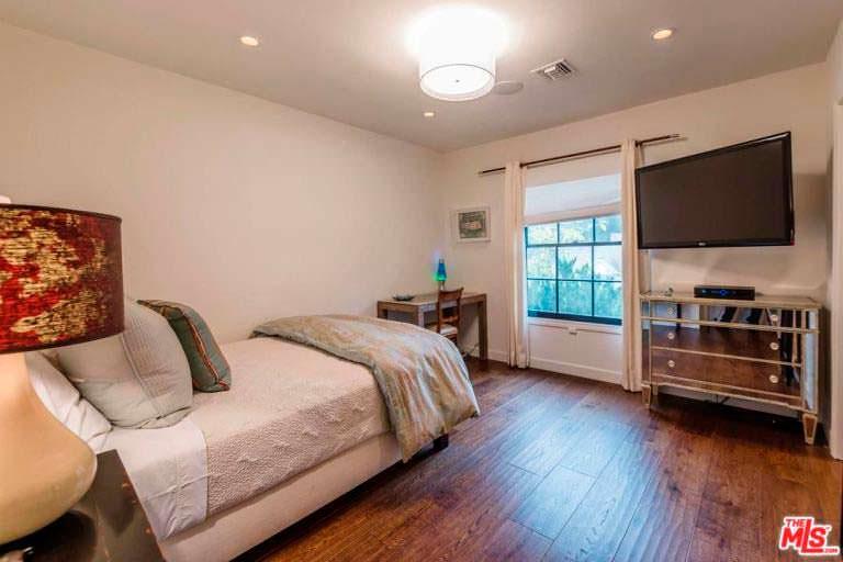 Дизайн гостевой спальни в доме актрисы Кейт Уолш