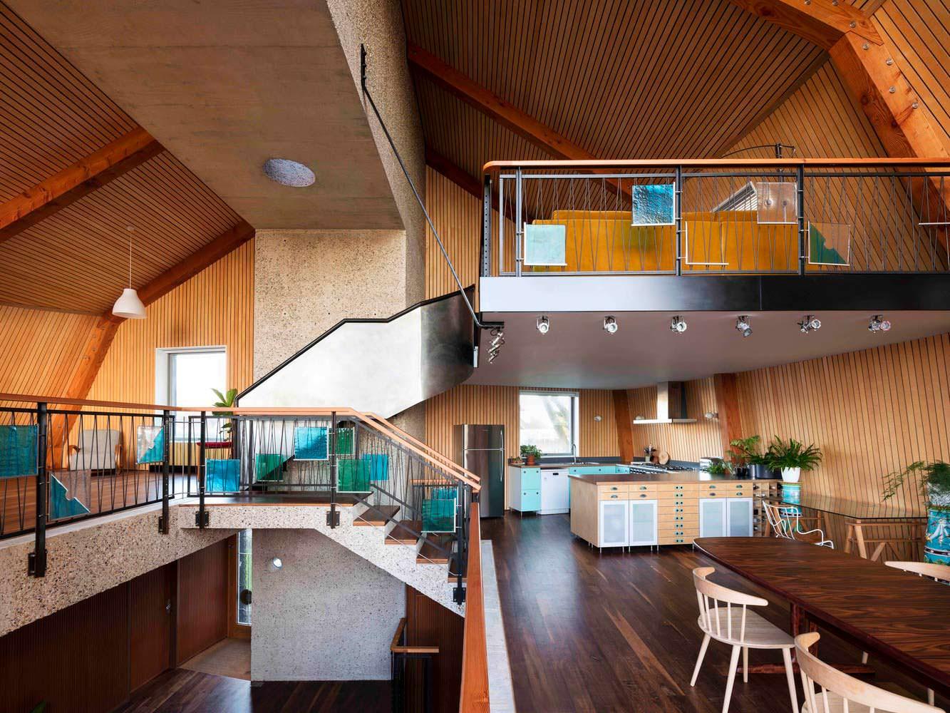 Дизайн кухни-столовой в открытой планировке от Mole Architects