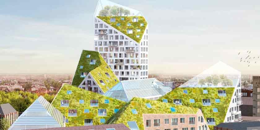 MVRDV построит жилой эко-квартал в Нидерландах | фото