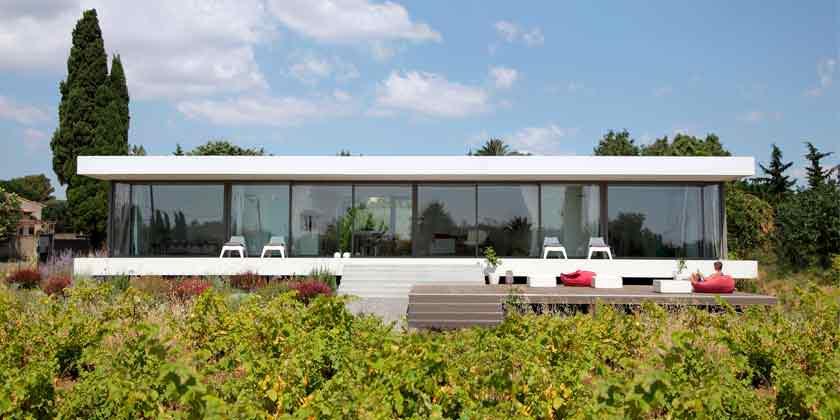 House V: загородный дом во Франции от Стефана Николаса | фото