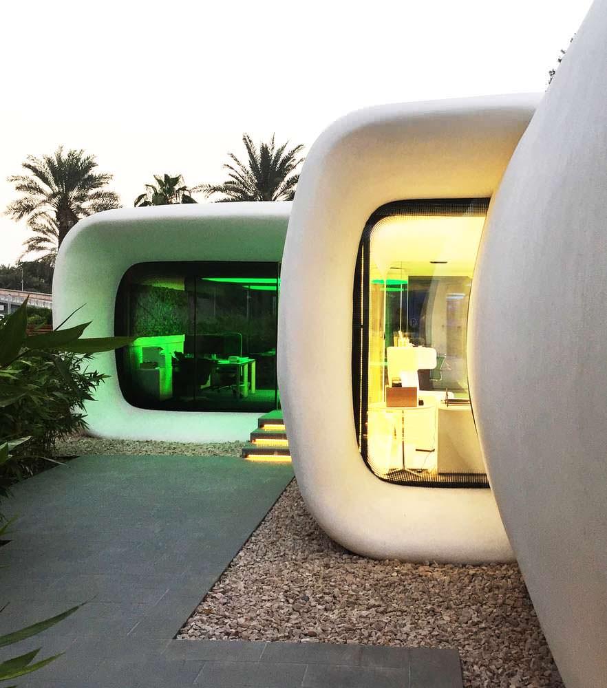 Dubai Future Foundation. Здание напечатано на 3D-принтере