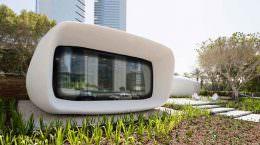 Офис будущего на 3D-принтере в Дубае от Killa Design | фото