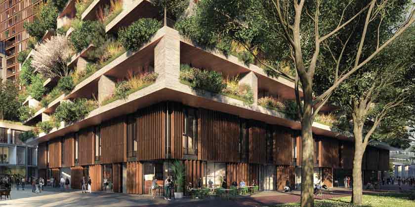 Стефано Боэри построит зеленый небоскреб в Нидерландах | фото