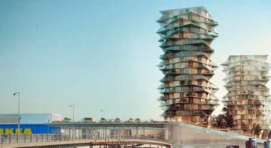 BIG построит небоскребы кактусы в Копенгагене | фото