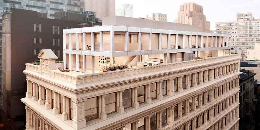 Сигэру Бан достроит этажей историческому дому в Нью-Йорке