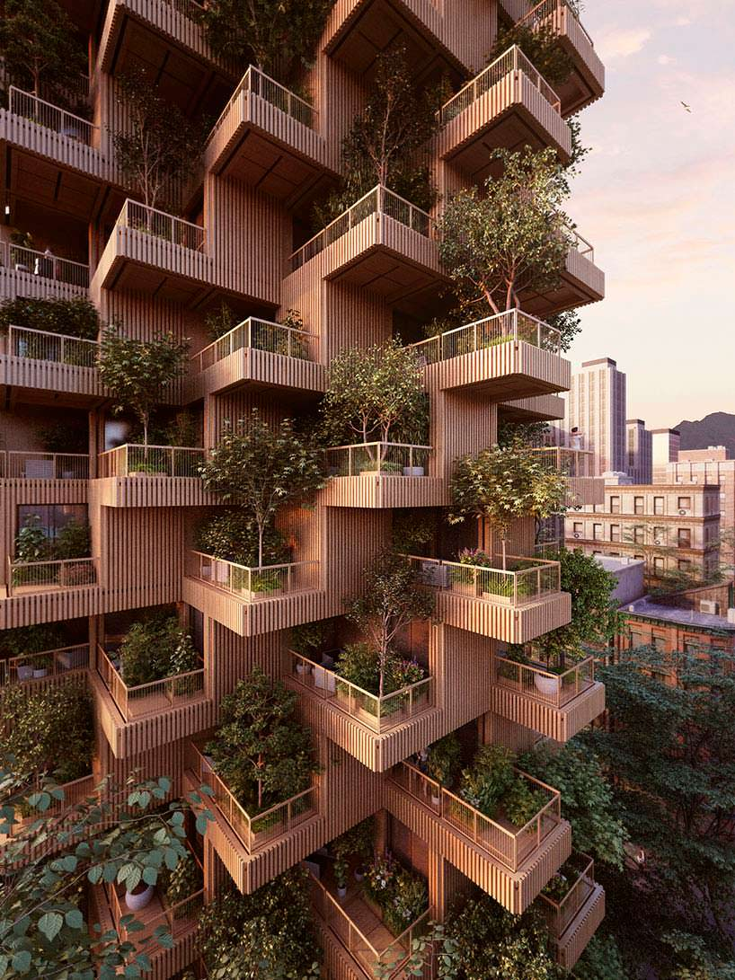 Деревянная башня в Торонто от Penda + Timberо от Penda + Timberто от Penda + Timber