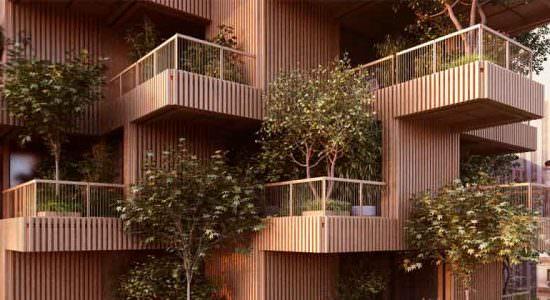 Penda Architects построит деревянный небоскреб в Торонто
