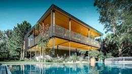 House T: дом садовода в Австрии от Viereck Architekten | фото