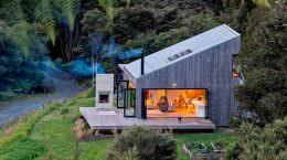 Домик в джунглях Новой Зеландии от LTD Architectural | фото
