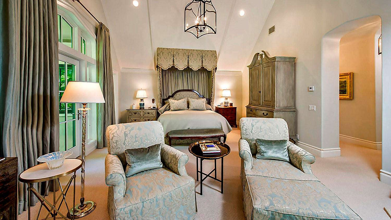 Спальня в ирландском стиле