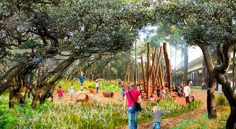 Линейный парк The Underline в Майами. Проект