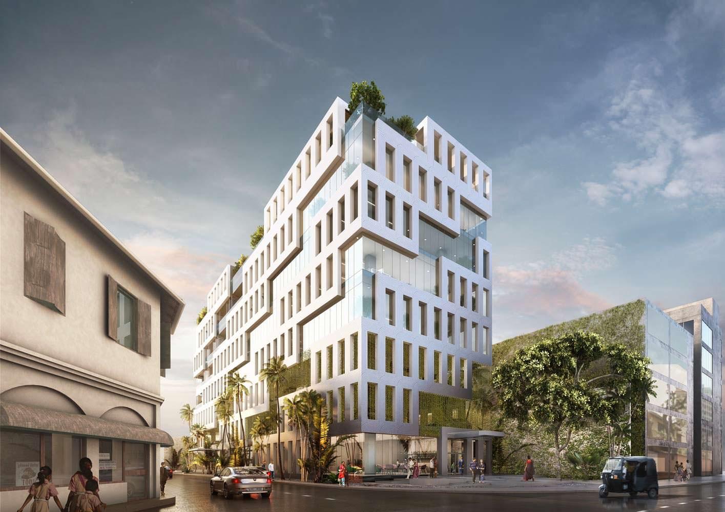 Фото | Офисный комплекс Veranda Offices. Проект MVRDV