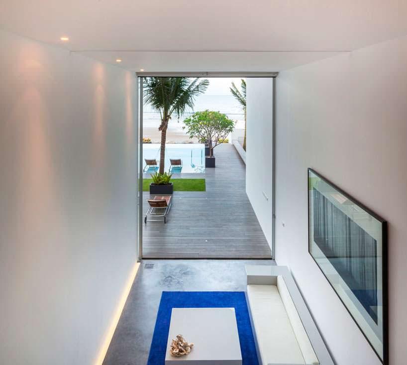 Дизайн интерьера в стиле минимализм от Шиничи Огавы