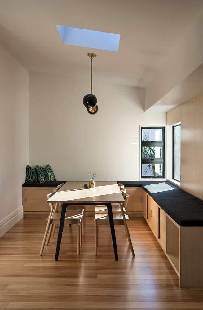 Интерьер столовой в стиле минимализм от бюро Matter
