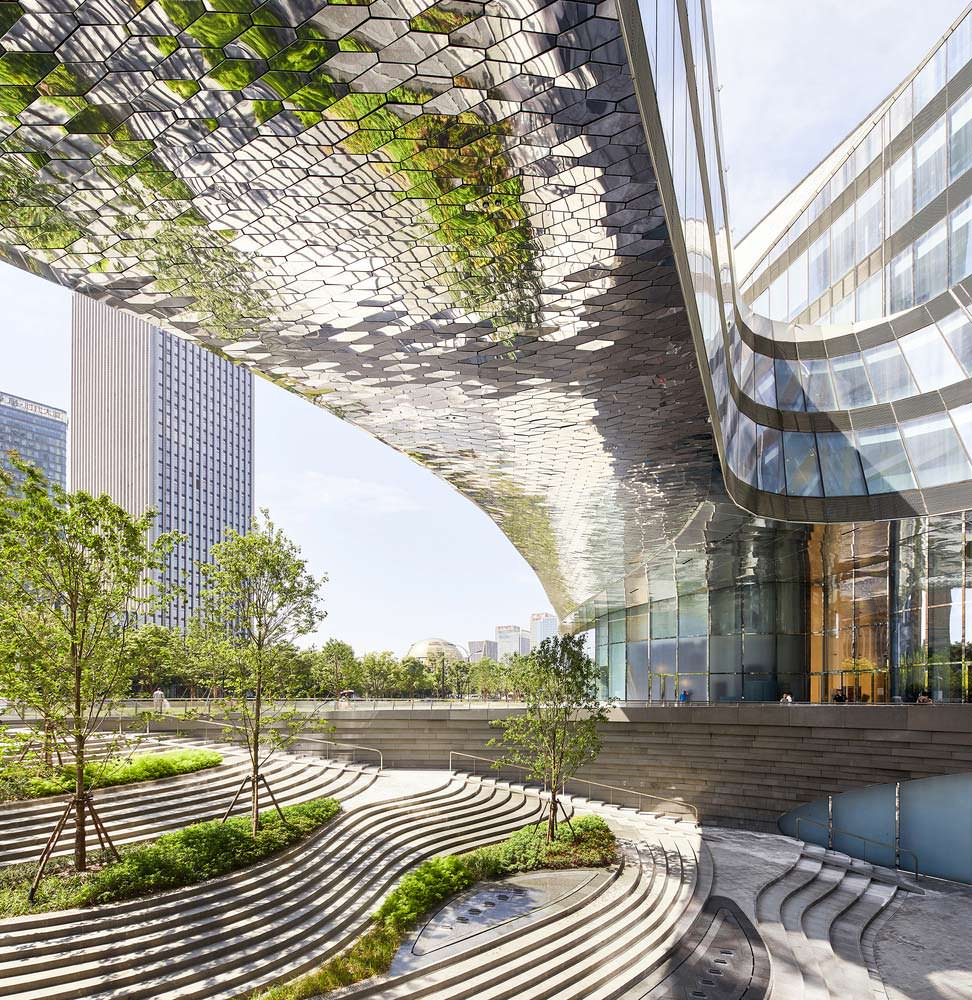 Raffles City: смешанный комплекс на 400 000 кв. м. Гуанчжоу