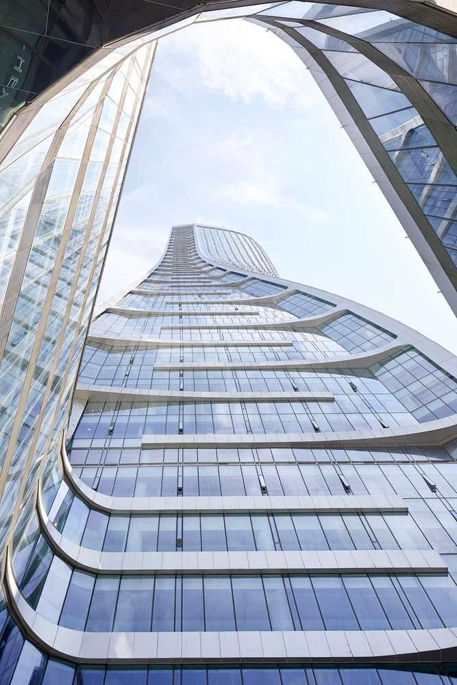 Raffles City: новый комплекс смешанного использования