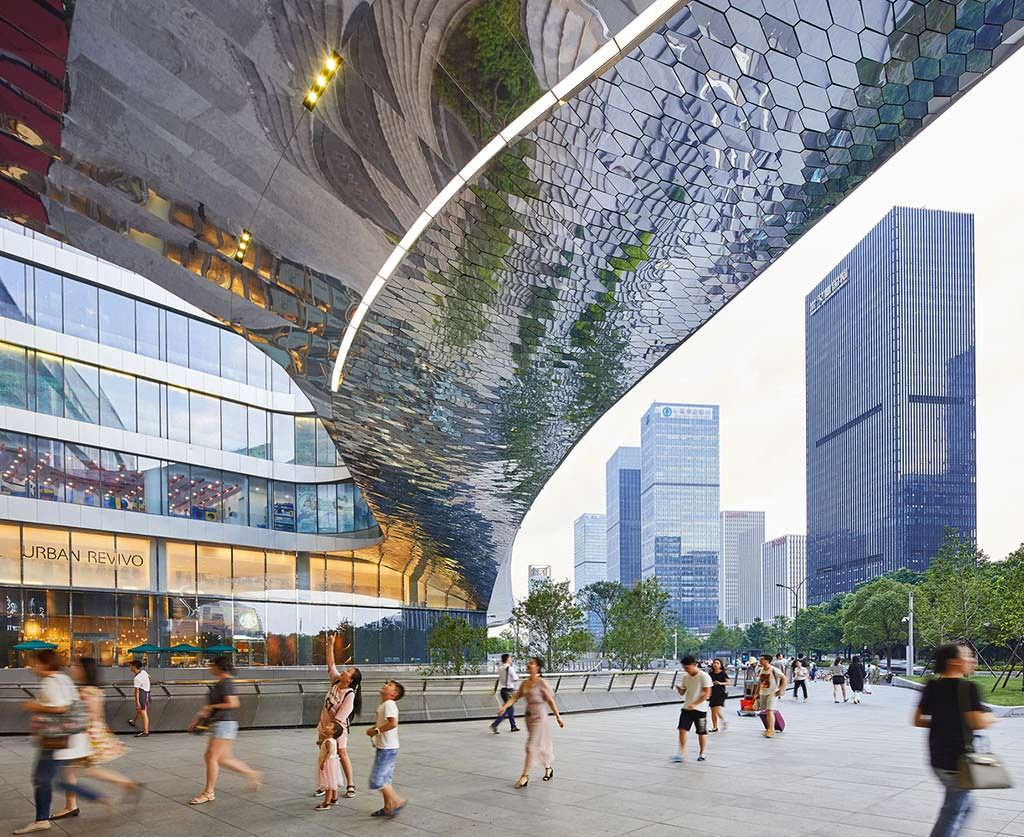 Raffles City в Гуанчжоу. Проект UNStudio из Амстердама