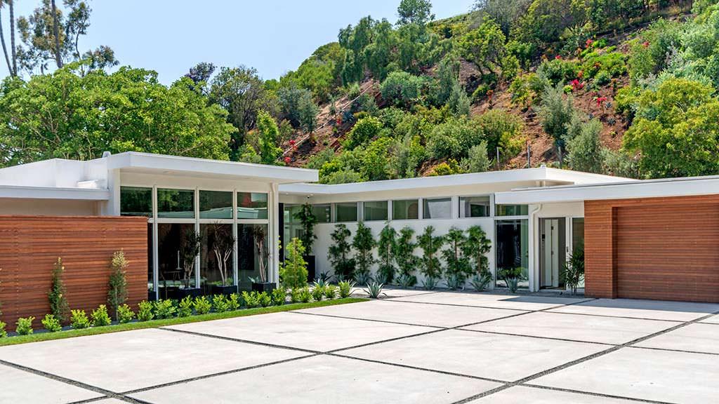 Дом Синди Кроуфорд в Лос-Анджелесе