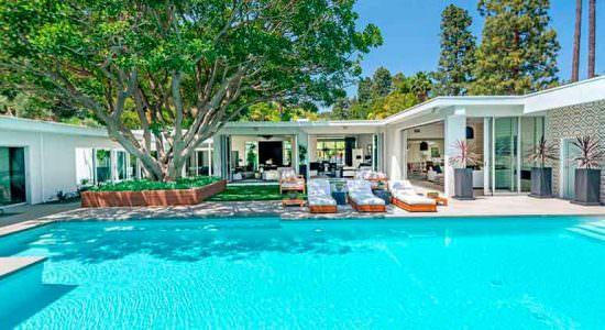 Синди Кроуфорд купила дом в Беверли-Хиллз | фото и цена