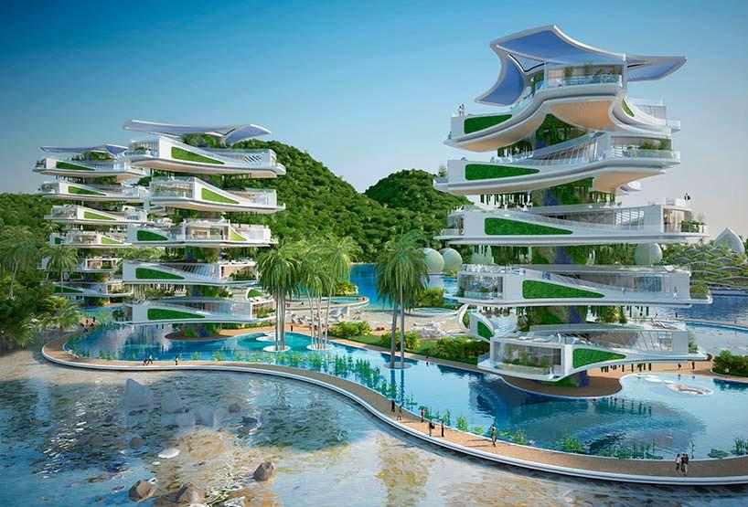 Здания эко-курорта Nautilus Eco-Resort для Филиппин