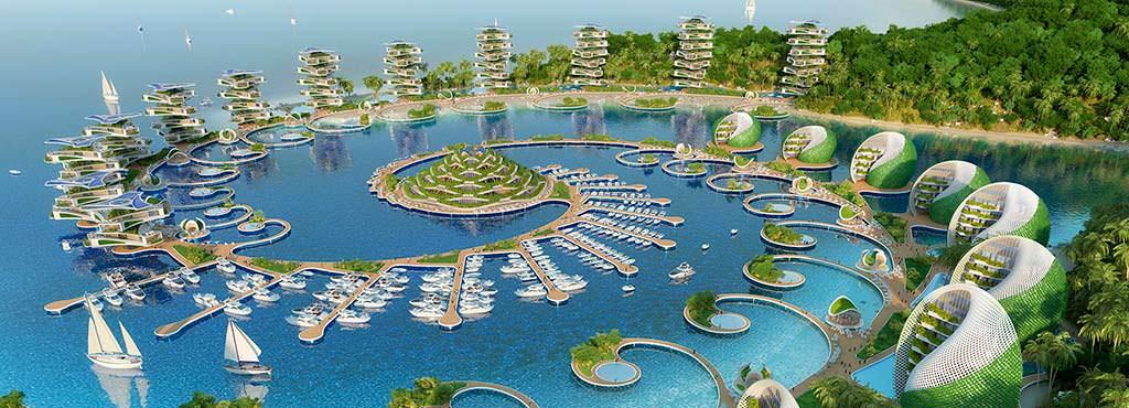 Эко-курорт Nautilus Eco-Resort. Проект Винсента Каллебо