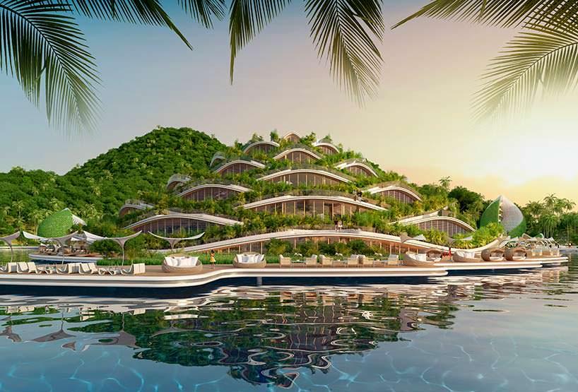 Nautilus Eco-Resort. Проект Vincent Callebaut Architectures