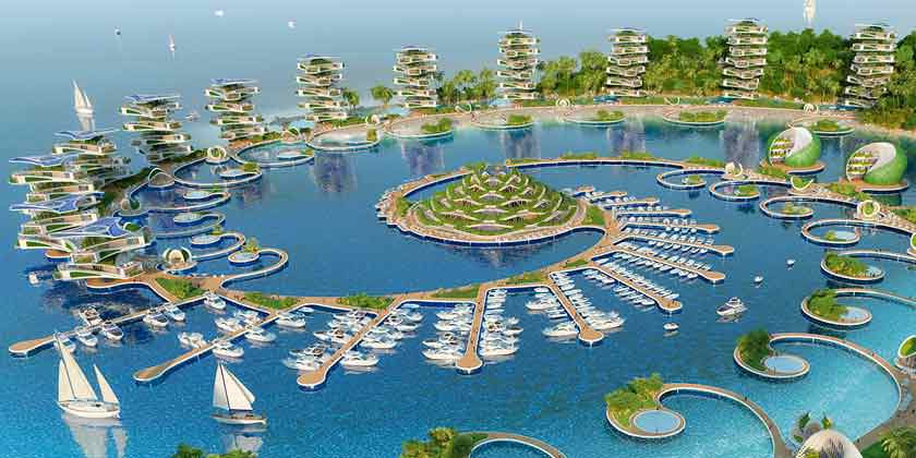 Винсент Каллебо предложил эко-курорт для Филлипин | фото