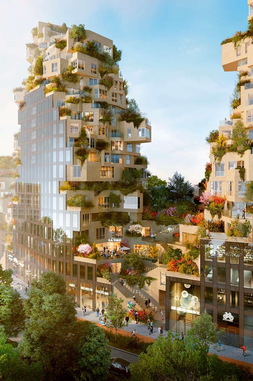 Комплекс смешанного использования Valley в Амстердаме