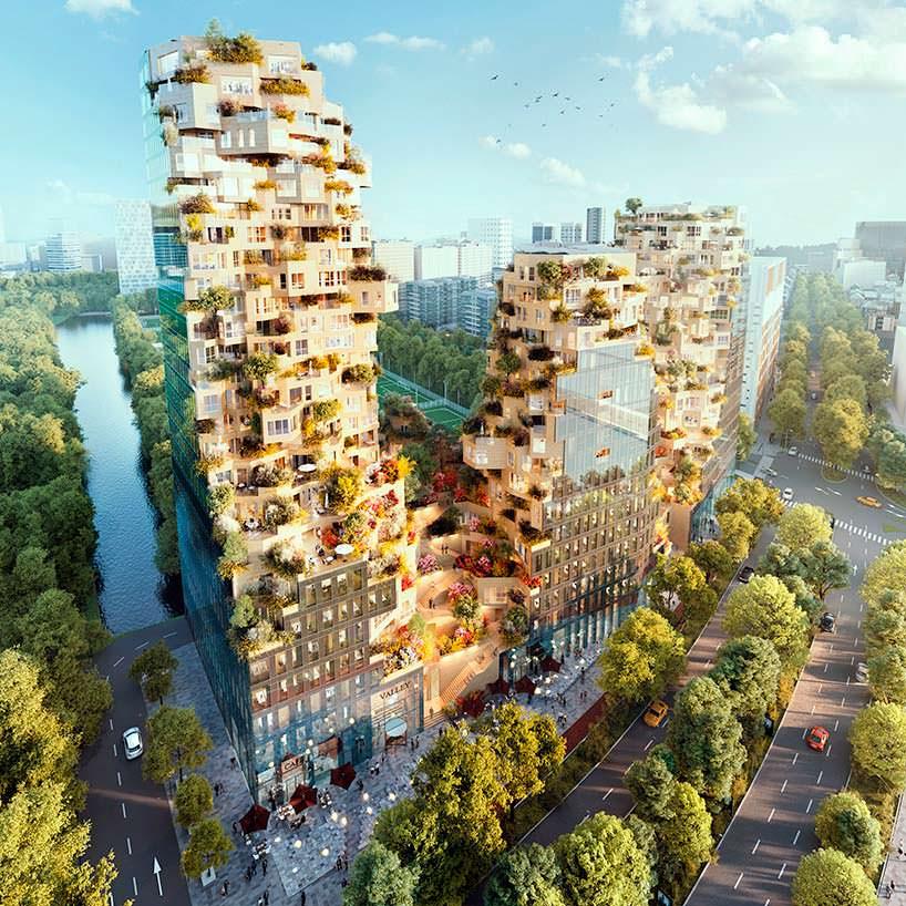 Valley - новый проект MVRDV для Амстердама, Нидерланды