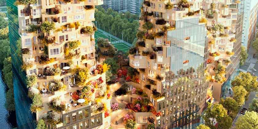 MVRDV построит в Амстердаме комплекс смешанного использования