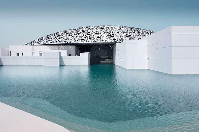 Музейный комплекс Лувр Абу-Даби в ОАЭ. Архитектор Жан Нувель