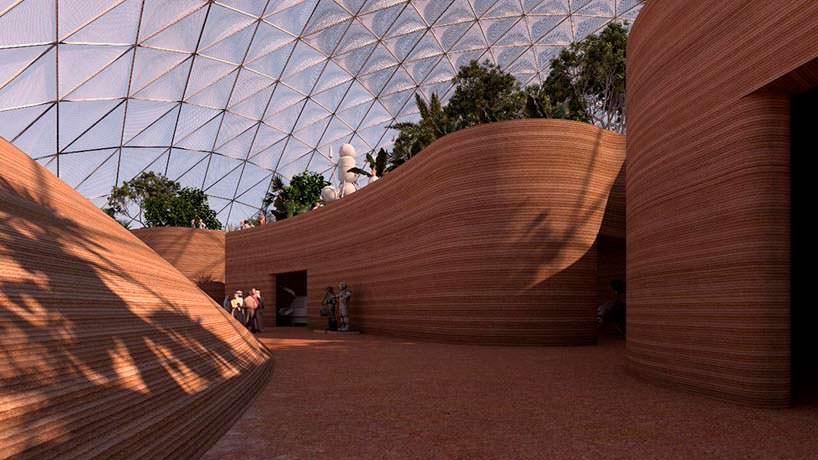 Марсианский город в пустыне Дубая. Проект BIG