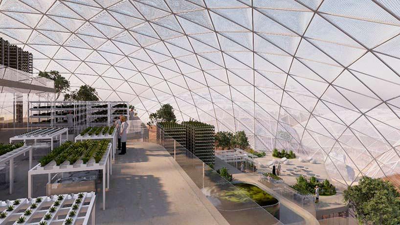 Лаборатории Mars Science City в пустыне Дубая