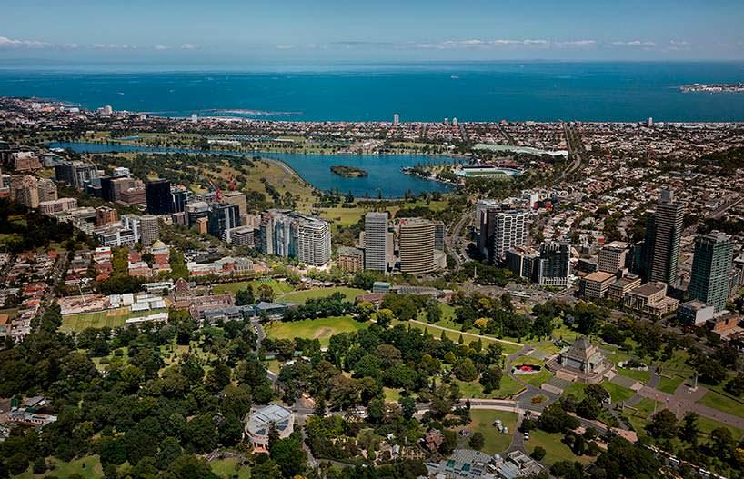 Прибрежная линия Мельбурна. Район Элберт Парк