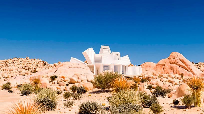 Дизайнерский дом из морских контейнеров от Whitaker Studio