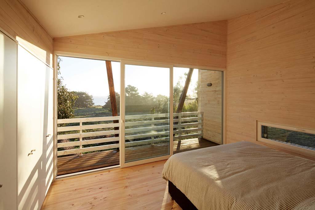 Вид из спальни на Тихий океан Verónica Arcos