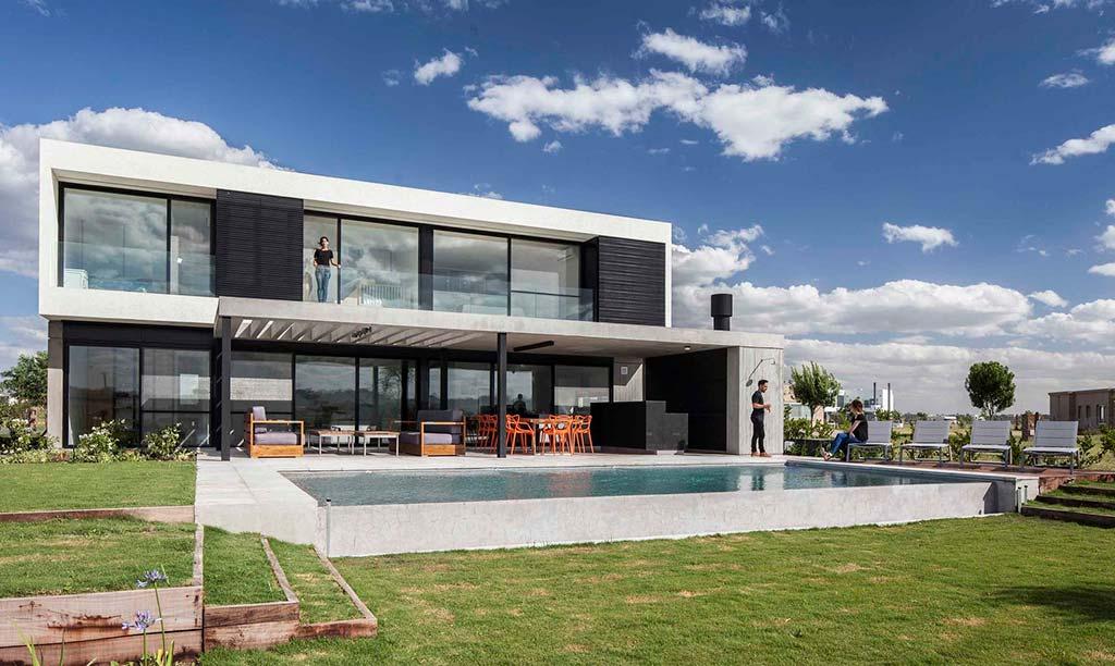 Дом в стиле хай-тек House N. Проект Estudio GM ARQ