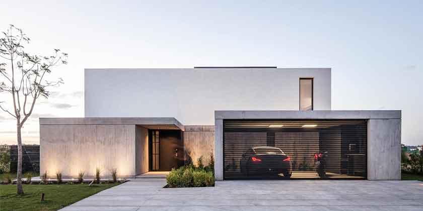 Хай-тек дом House N в Аргентине от Estudio GM ARQ | фото