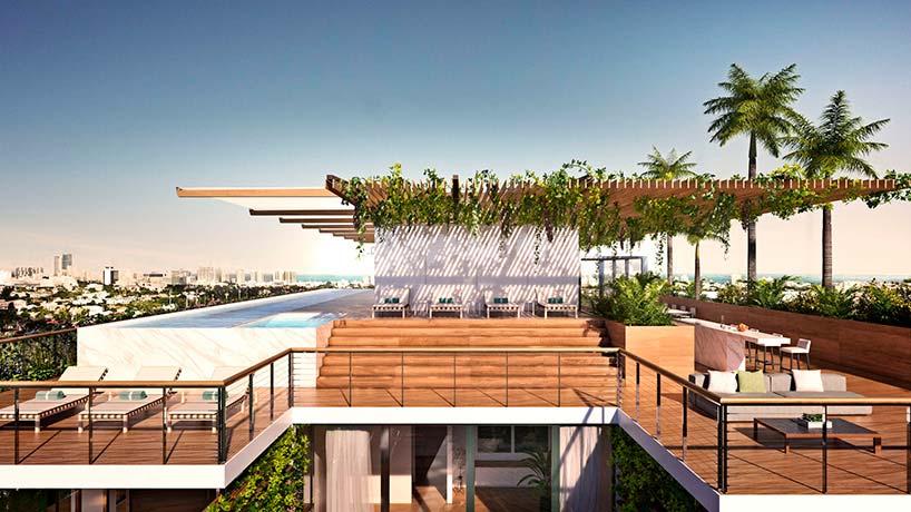 4 пентхауса с частными бассейнами в ЖК Monad Terrace