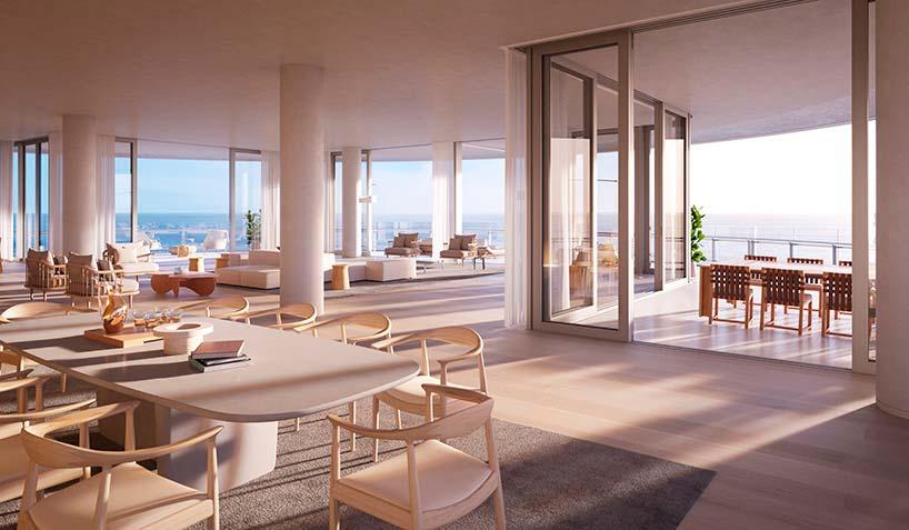 Eighty Seven Park: квартиры на берегу океана в Майами