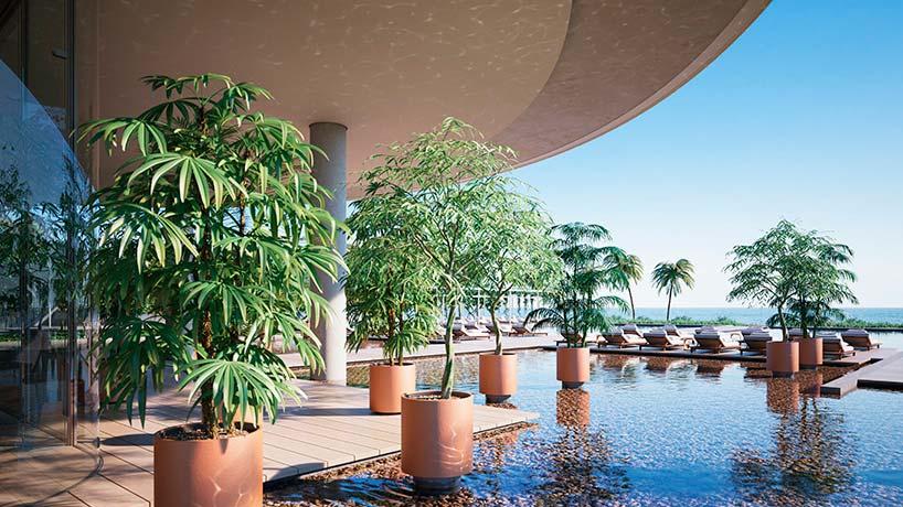 Eighty Seven Park: элитный ЖК в Майами от Ренцо Пиано