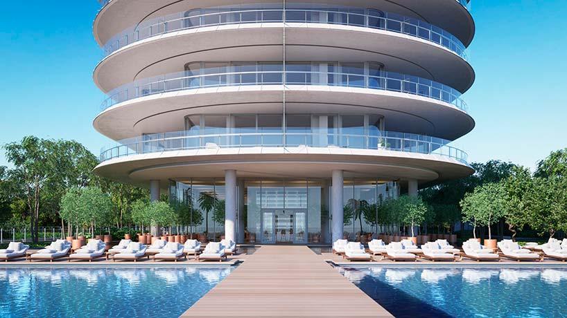 Eighty Seven Park: элитная башня от Ренцо Пиано в Майами