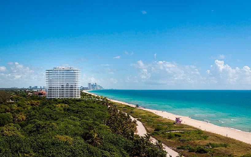 Элитная многоквартирная башня Eighty Seven Park в Майами